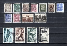 Bulgaria   1953  .-  Y&T  Nº   732/740-741/742-743/745-747 - Oblitérés