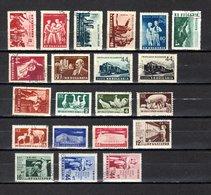 Bulgaria   1954-55  .-  Y&T  Nº   789/794-795/796-797/798-804-806/809-810/811-815/818 - Oblitérés