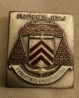 Insigne MARINE 39-45 : Cuirassier RICHELIEU . - Armée De Terre