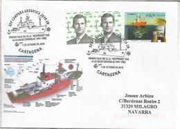 CARTAGENA MURCIA CC MAT XXV CAMPAÑA ANTARTICA BUQUE HESPERIDES ANTARCTIC - Spedizioni Antartiche