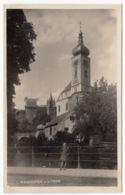 AK Waidhofen An Der Ybbs, Kirche, Mädchen, Gel. 1931 - Waidhofen An Der Ybbs