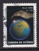Brazil 2000, Earth Minr 3056 Vfu. Cv 2,30 Euro - Oblitérés