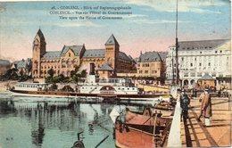 - COBLENCE - Vue Sur L'Hôtel Du Gouvernement - - Koblenz