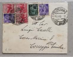 Lettera Bologna-Correggio - 08/03/1946 - 6. 1946-.. Repubblica