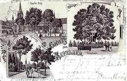 KEVELAER - Gruss - Voyagé 1901 - TOP   (234) - Kevelaer