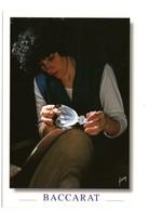 """Cristallerie De BACCARAT (54) - Taille D'un Verre """"Harcourt"""" - Baccarat"""