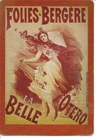 Folies -Bergère -La Bella Otero - Geïllustreerde Kaarten