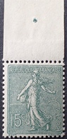 R1189/426 - 1903 - TYPE SEMEUSE FOND LIGNE - N°130j NEUF** BdF Papier GC - Frankreich