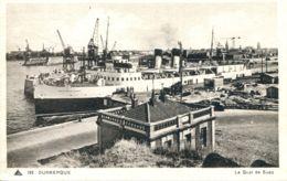 """N°1163 T -cpa Port De Dunkerque -ferry """"le Shepperton Ferry"""" - Fähren"""