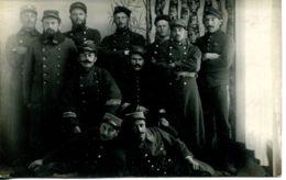 N°1168 T -carte Photo Prisonniers Au Camp De Rigensburg (Bavière) 1916 - Weltkrieg 1914-18