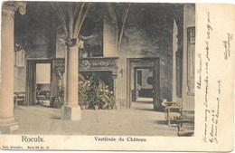 Le Roeulx NA22: Vestibule Du Château 1909 - Le Roeulx