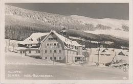 AK Riesengebirge St Sankt Peter Sv Svaty Petr Sport Hotel Buchberger Baude Bouda A Spindlermühle Spindleruv Mlyn Winter - Sudeten