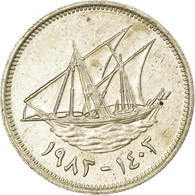 Monnaie, Kuwait, Jabir Ibn Ahmad, 20 Fils, 1983/AH1403, TB+, Copper-nickel - Koweït