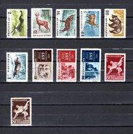 Bulgaria   1958  .-  Y&T  Nº   921/926-927/929-930/931 - Oblitérés