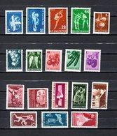 Bulgaria   1958-59  .-  Y&T  Nº   933-934/36-937/42-945-952-953-954/58 - 1945-59 Volksrepublik
