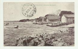 FISHING VILLAGE - PORT MELVILLE - LOURENCO MARQUES1922  VIAGGIATA FP - Mozambique