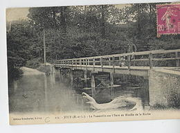 JOUY: La Passerelle Sur L'Eure Au Moulin De La Roche - 175 édit. Grandcelas - Jouy