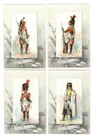 MILITARIA - Lot De 28 Chromos Sur Les Dragons - Regimente