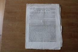 1791   L'Ami Du Roi  Des Français, De L'Ordre Et Sur Tout De La Vérité.  Journal - Historical Documents