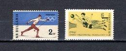 Bulgaria   1960  .-  Y&T  Nº   1006-1015    ** - Bulgaria