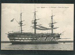 """CPA - BREST - """"LA BRETAGNE"""", Ecole Des Mousses - Brest"""