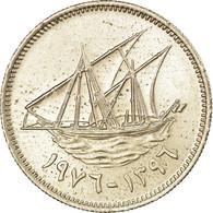 Monnaie, Kuwait, Jabir Ibn Ahmad, 20 Fils, 1976/AH1396, SUP, Copper-nickel - Koweït