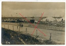 80 - Bazentin Le Grand - Lager  -carte Allemande Photo-1914-1918 WWI  1-4 - France