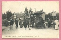 Hautes Vosges - 68 - 88 - SCHLUCHT - Arrivée Du Service Automobile - ND N° 336 - Minis Plissures - Voir Scans - Frankrijk