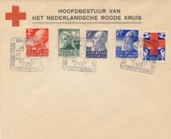 Nederland - 1927 - Red Cross - Rode Kruis Serie Met Dierentuinstempel (deels 1e Dag / FDC) Op Cover - Niet Gelopen - Period 1891-1948 (Wilhelmina)