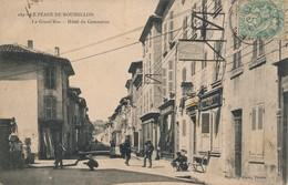 J17 - LE PÉAGE DE ROUSSILLON - Isère - La Grande Rue - Hôtel Du Commerce - Autres Communes