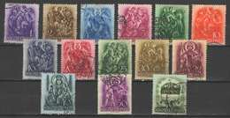 Hungary 1938. Long Saint Stephan Nice Set, Used Michel: 551-564 - Usati