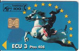 """SPAIN - Espana """"93, ECU3/Ptas 408, Tirage 6100, 01/94, Mint - Spagna"""