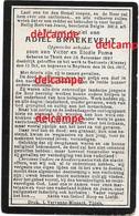 Oorlog Guerre Adiel Braekevelt Tielt Opgeeiste Soldaat Gesneuveld Te Dadizele Okt 1917 Poma Beitem - Santini