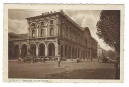 2375 - TORINO STAZIONE PORTA NUOVA ANIMATISSIMA 1930 CIRCA - Stazione Porta Nuova