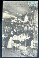 Cpa Du 75 Paris Les Petits Métiers -- Les Grands Marchés - Pavillon Du Gibier  DEC19-33 - Artigianato Di Parigi