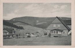 AK Riesengebirge Hotel Zeleny Potok Grünbach Zehgrund Baude Chata Bouda Zehgrundbaude A Petzer Pec Groß Aupa Velka Upa - Sudeten