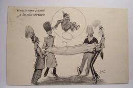 HUMOUR  - MILITARIA - Guillaume Passé à La Couverture     - JAN   , Illustrateur - Humor
