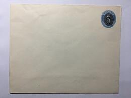 DENMARK Early Pre-paid Cover 5 Ore Overprint On 4 Ore - 1864-04 (Christian IX)