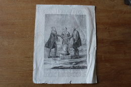 RARE  Le Serment De Réconciliation Des Trois Ordres   1790 - Documenti Storici