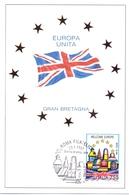 EUROPA UNITA GRAN BRETAGNA FDC   1993 MAXIMUM POST CARD (GENN200135) - Comunità Europea