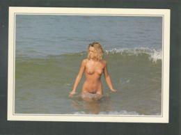 CP (Nu) Femme Nue Sortant De La Mer - Altri