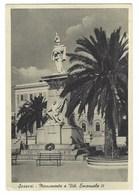 2391 - SASSARI MONUMENTO A VITT EMANUELE II 1950 CIRCA - Sassari