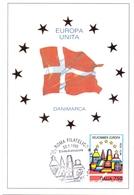 EUROPA UNITA DANIMARCA FDC   1993 MAXIMUM POST CARD (GENN200138) - Comunità Europea