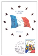 EUROPA UNITA FRANCIA FDC   1993 MAXIMUM POST CARD (GENN200139) - Comunità Europea