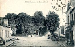 N°1174 T -cpa Cuillé -la Route De St Poix- - Otros Municipios