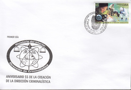 CUBA 2018  Crimilization   FDC - Briefe U. Dokumente