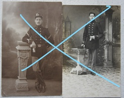 Photox4 ABL Soldat 10ème Régiment De Ligne Futurs Chasseur Ardennais Namur Circa 1913-15 - Guerre, Militaire