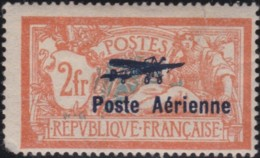 France    .   Yvert   .    PA  1  (2 Scans)       .   *   .   Neuf Avec Gomme Et Charniere    .   /   .  Mint-hinged - Poste Aérienne
