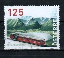 """Österreich 2017:  """"Dispensermarke-Schafbergbahn""""  Gestempelt (siehe Foto) - 1945-.... 2ème République"""