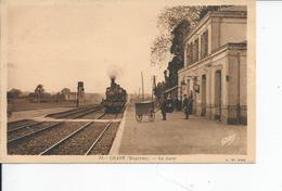 CRAON   La Gare 1921 - Craon